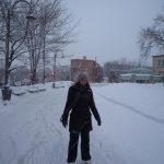 Helia en patins