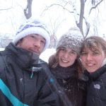 Photos d'Amélie, Helia et Jim