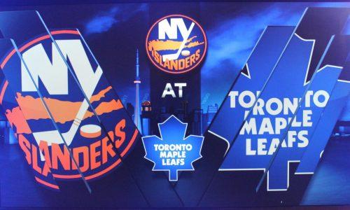 Match Hockey Maple Leafs vs New York Islanders