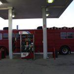 Le bus de tournée texan
